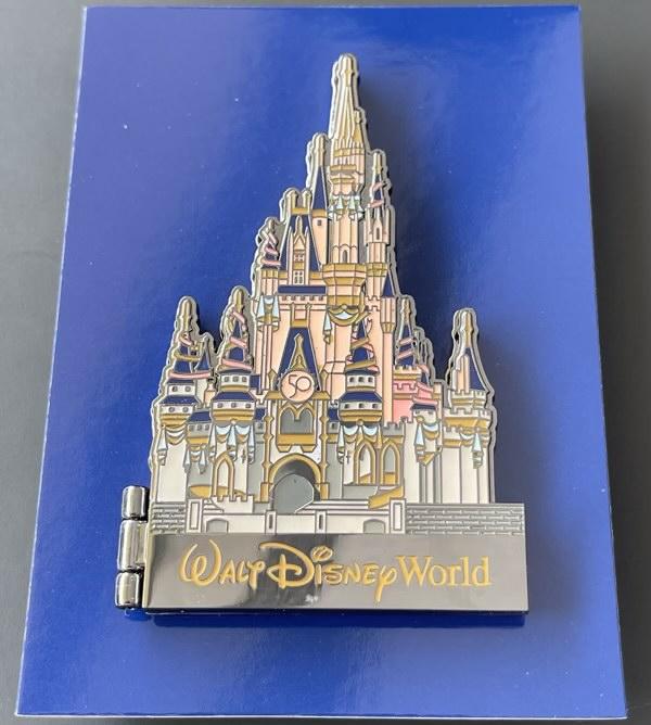 Walt Disney World 50th Anniversary Castle Hinged Pin