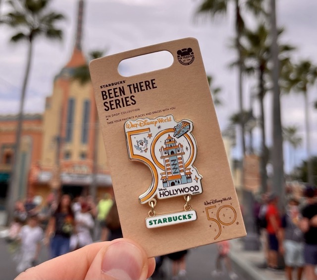 Walt Disney World Starbucks Been There Pin Series