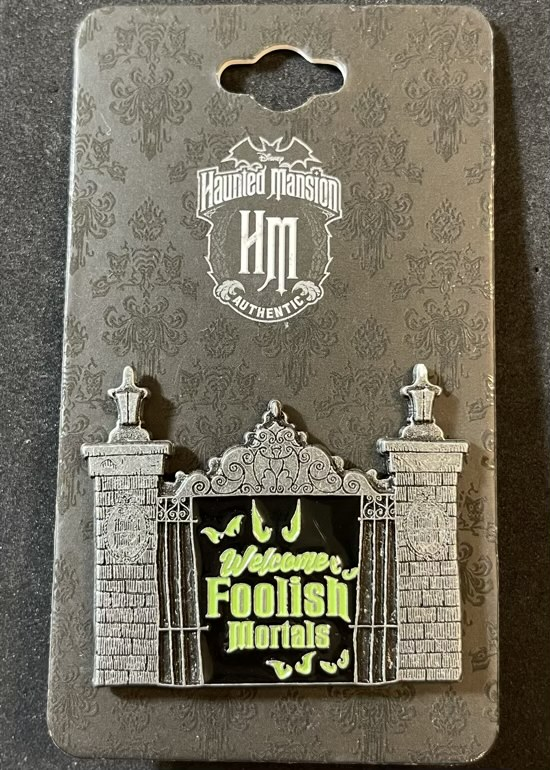 Welcome Foolish Mortals Haunted Mansion BoxLunch Disney Pin