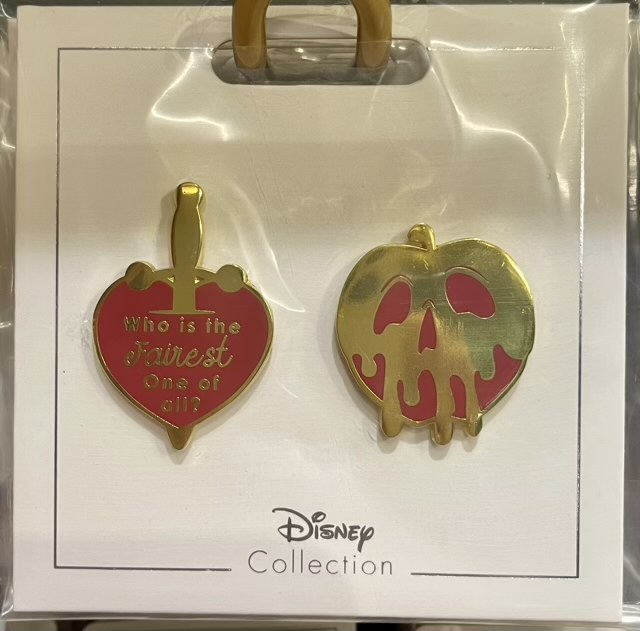 Who is the Fairest One of All? Disney Pin Set