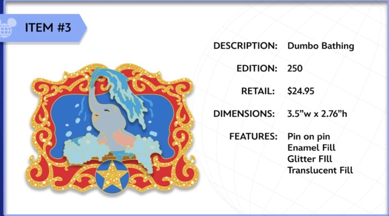 Dumbo Bathing WDI Pin