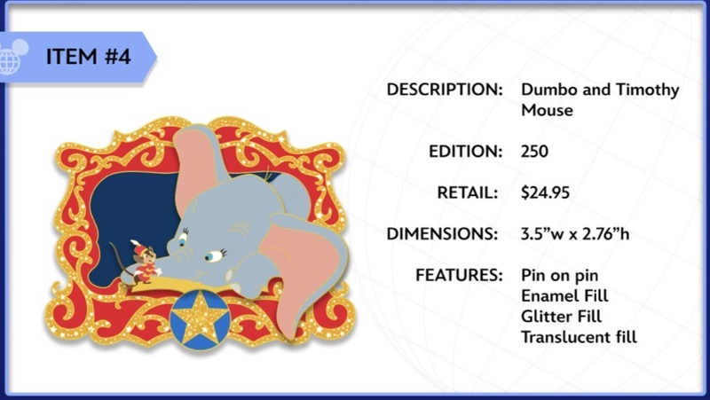 Dumbo and Timothy Mouse WDI Pin
