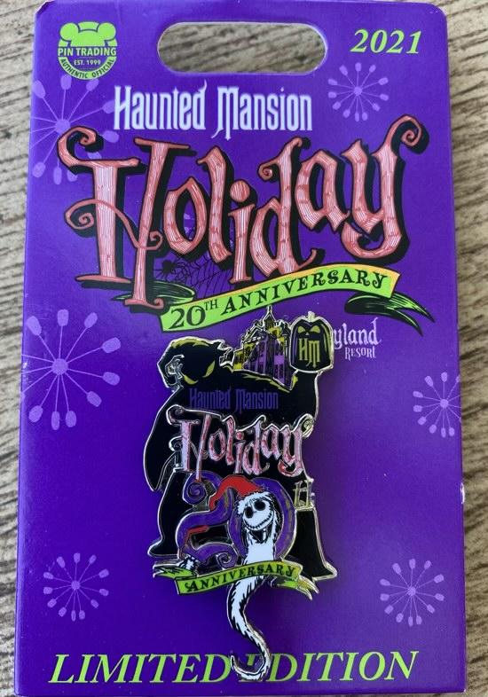Haunted Mansion Holiday 2021 Disney Pin