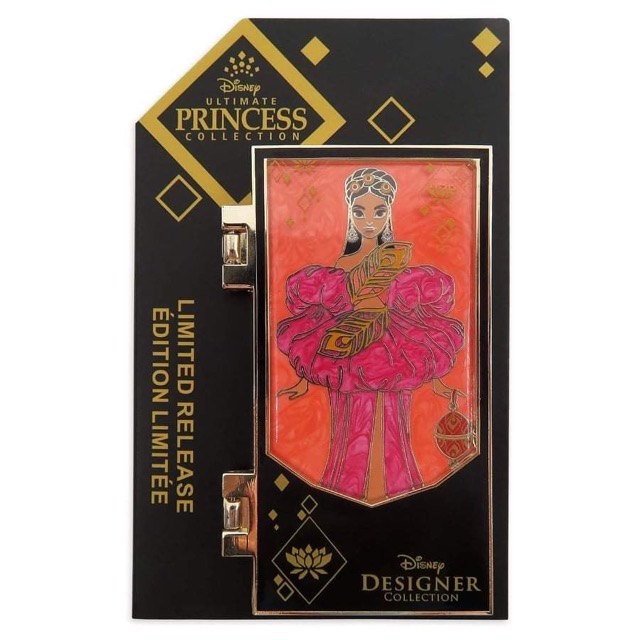 Jasmine Disney Designer Collection Limited Release Pin on Card