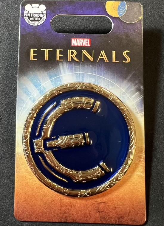 Marvel Eternals Logo Pin