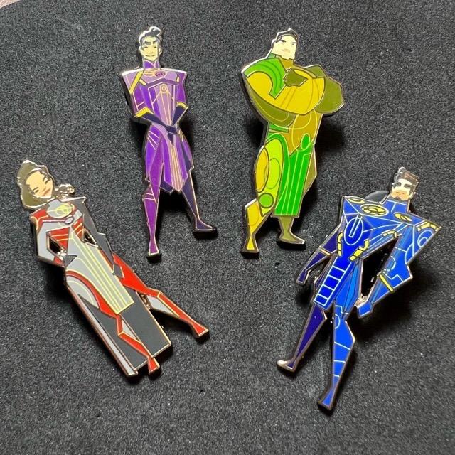 Marvel Eternals Mystery Pins