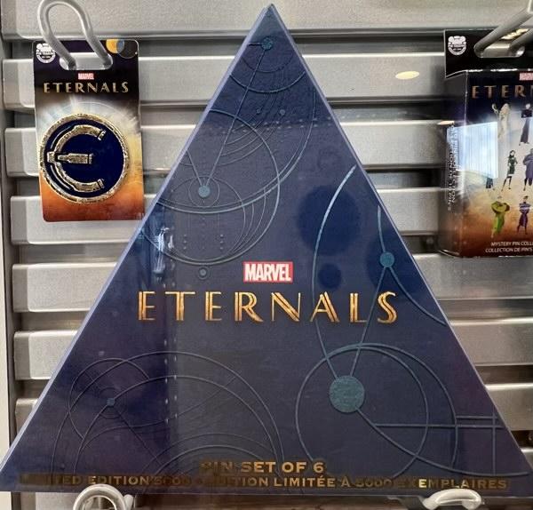 Marvel Eternals Pin Set Box