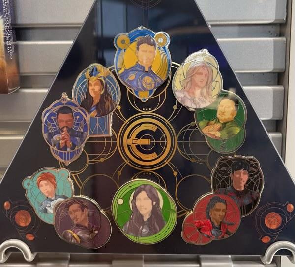Marvel Eternals Pin Set