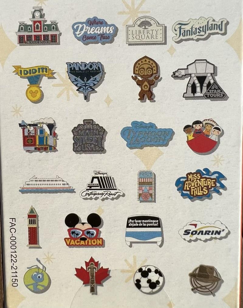 Tiny Kingdom Walt Disney World Second Edition Series 3 Pins